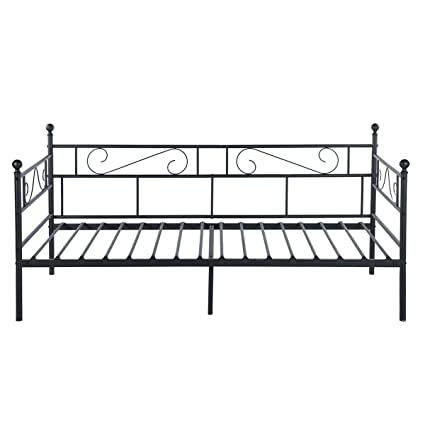 Amazon.com: Green Forest Daybed Twin Bed Frame with Headboard and ...