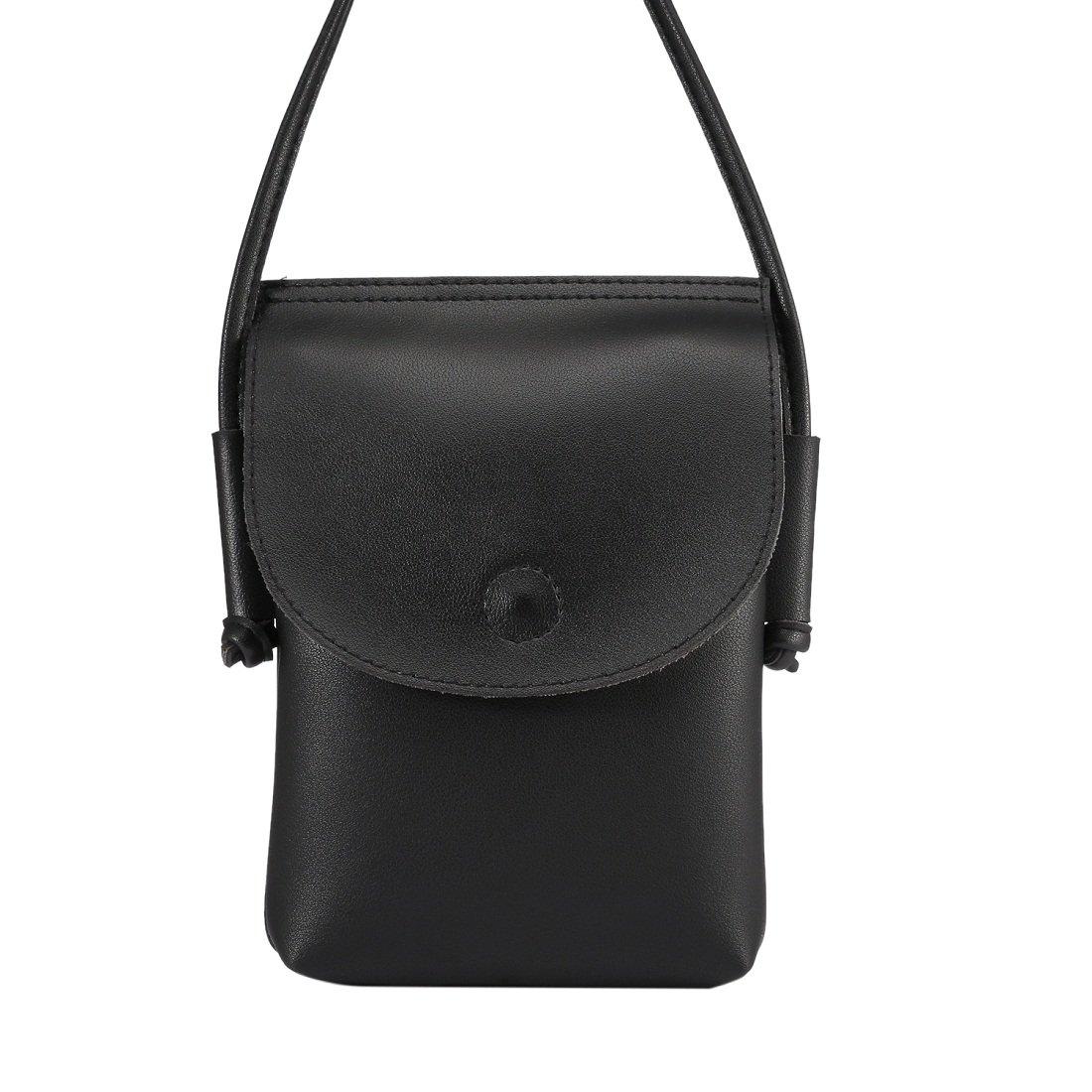 5b27a5ae7227 Crossbody Wallet Bag Cellphone Purse Pouch Bag Shoulder Crossbody Bag Girls  Mini Sling Pouch Wristlet Wallet Purse with Long Shoulder Strap Safe Lock  Button ...