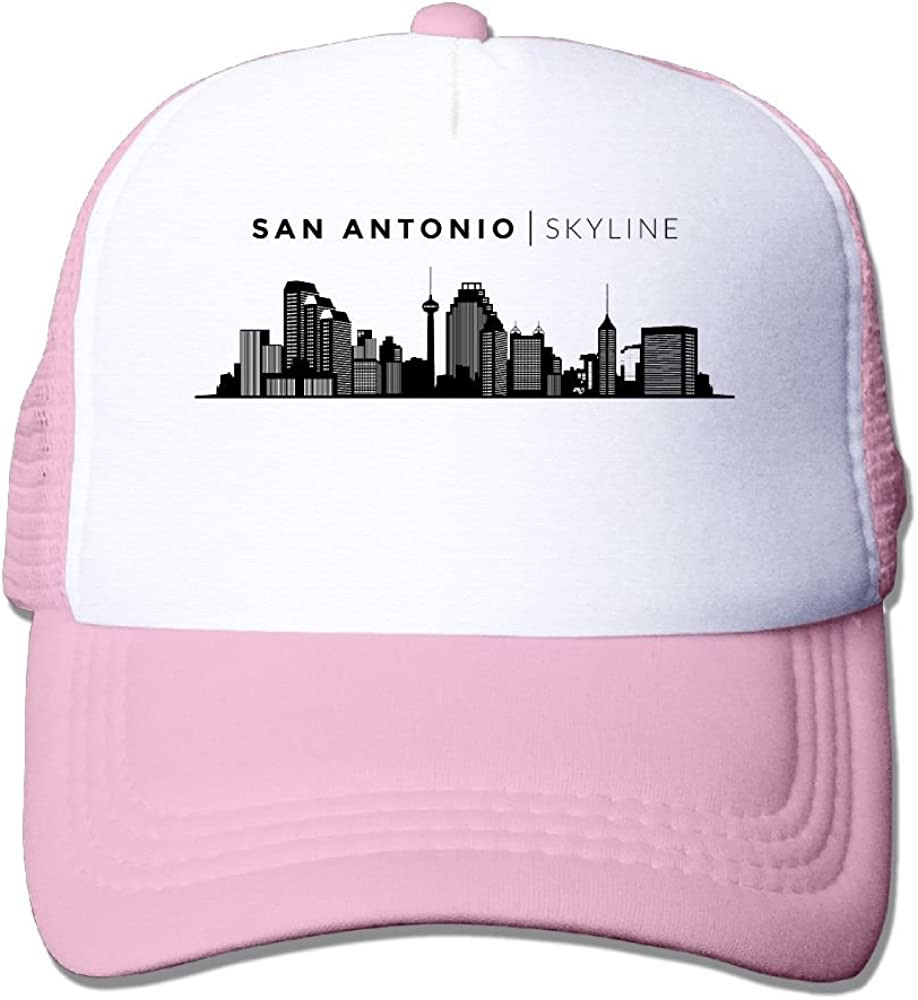 FeiTian San Antonio City Low Profile Baseball Caps For College Students Unique Great For Sports Climbing Fitted Hats