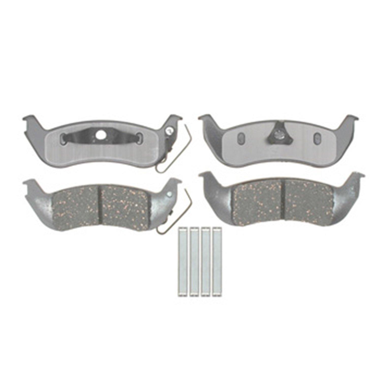 SSBC 1610402 Big Bite D1040A Brake Pad Stainless Steel Brakes