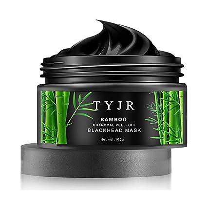 TYJR - Black Mask - Mascarilla Exfoliante y Limpiadora Contra Puntos Negros y Acné (100gram