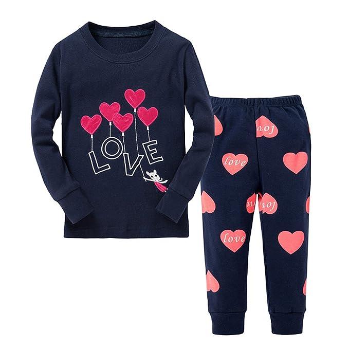 Amazon.com: TinaLuLing - Pijama para niños con diseño de ...
