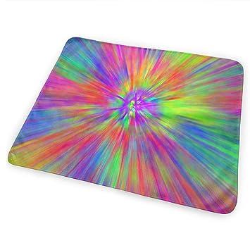 Amazon.com: FnH88Ee Tye Dye Patterns Baby Crib Pee Mat ...