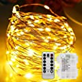Bebrant LED Rope Lights String Lights Battery Operated