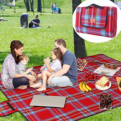 SparkleDay Blanket Waterproof Foldable Travelling