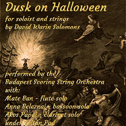 Dusk on Halloween for Flute and