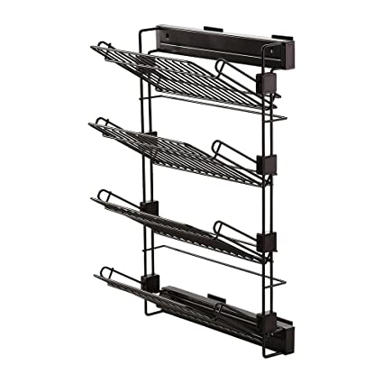 b9d27373 Emuca 7087113 Pull-out shoe-rack accessory with soft closing for wardrobe,  right hand assembly, moka colour: Amazon.co.uk: DIY & Tools