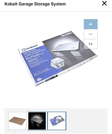 Image Unavailable. Image not available for. Color Kobalt Garage Storage System  sc 1 st  Amazon.com & Amazon.com: Kobalt Garage Storage System