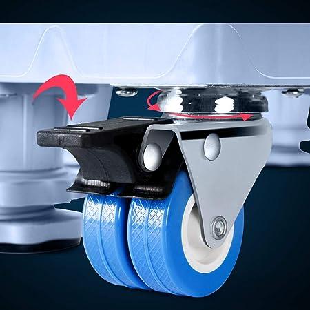 FAYY Elevación Bases móviles Lavadora Secadora Ajustable Dolly ...