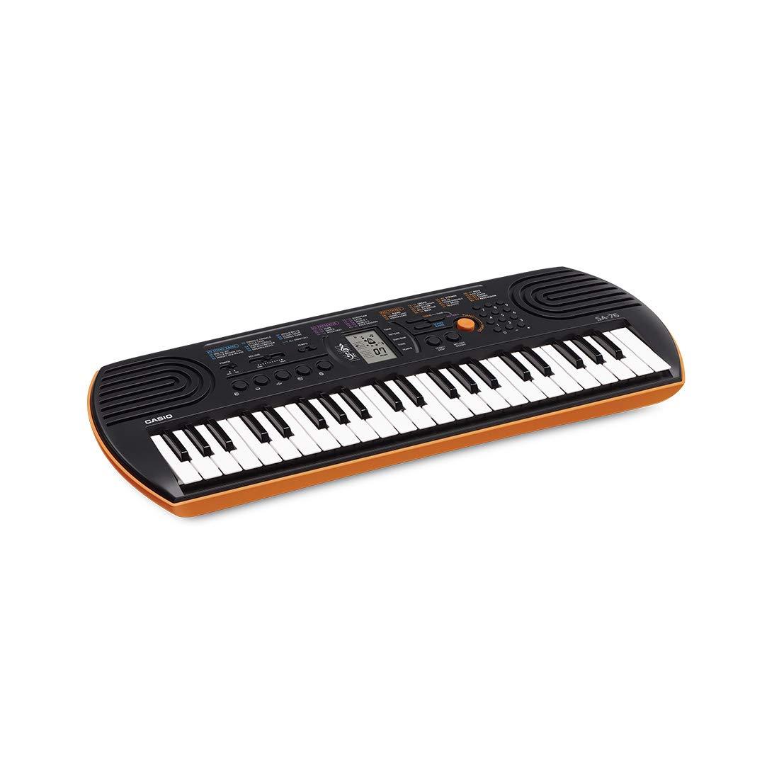 Casio SA g-76h2 Keyboard, 44 teclas