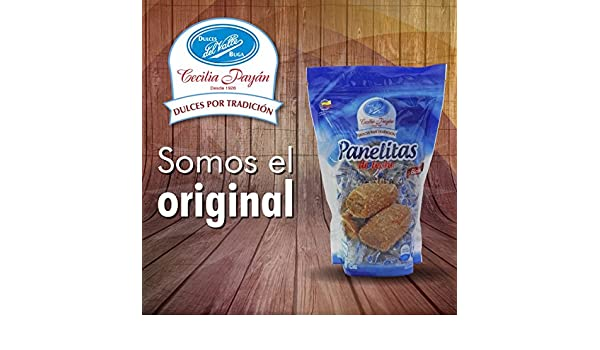 Amazon.com : Dulces del Valle Panelitas de Leche Net. Wt 11.85 oz : Grocery & Gourmet Food