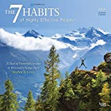 img - for The 7 Habits of Highly Effective People 2019 12 x 12 Inch Monthly Square Wall Calendar, Self Help Improvement book / textbook / text book