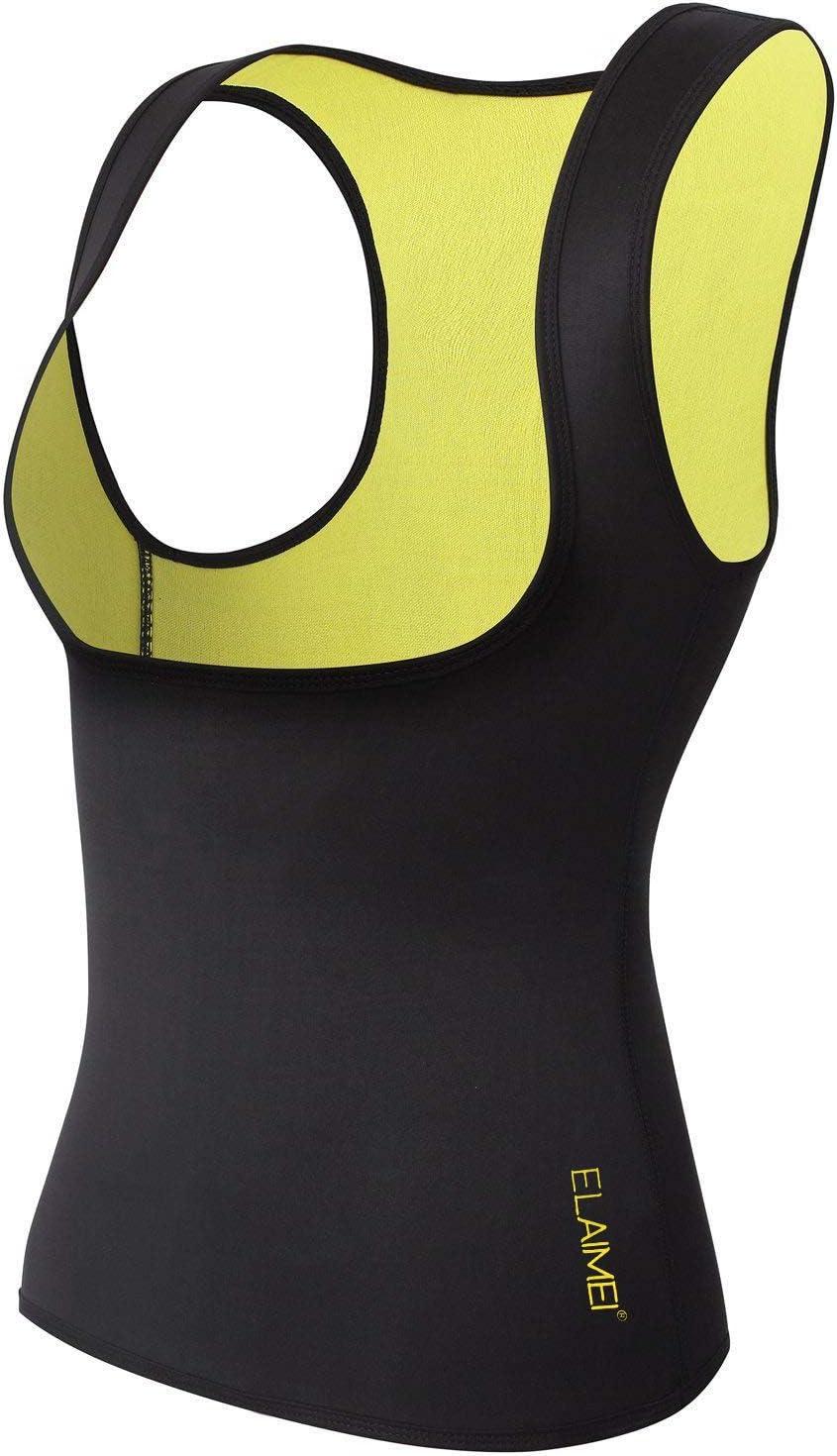 Womens Hot Thermo Neopren Schweiß Sauna Body Shaper Sport Fitness Yoga