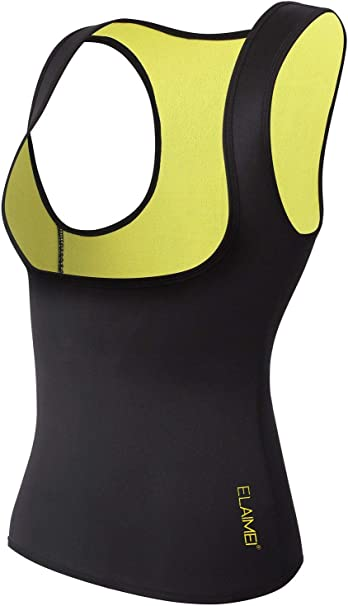 DODOING Hot Thermo Sweat Stretch Body Shaper Slimming Neopren Pants Sports Shorts f/ür Damen und Herren