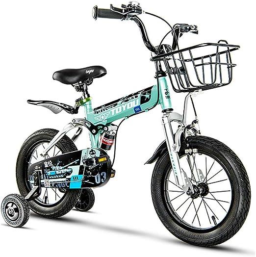GAIQIN Durable Bicicleta para niños de 14/16/18 Pulgadas, niño y ...
