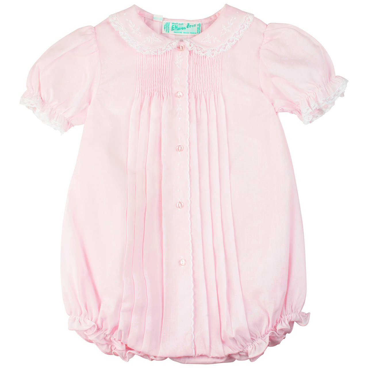 9894a5807828 Amazon.com  Baby Girls Pink Dressy Bubble Outfit Feltman Brothers  Clothing