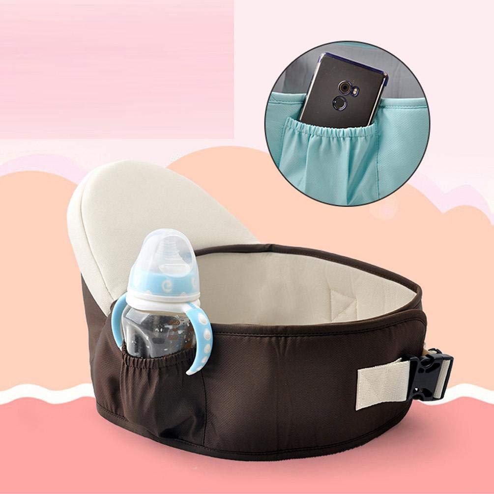 Koojawind Portabebés Asiento de Cadera Andadores Sling de bebé ...