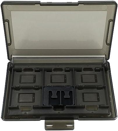 Starnearby Caja de Almacenamiento para Tarjetas de Juegos de Nintendo Switch, plástico, 1 Unidad, 12 + 2 Ranuras: Amazon.es: Hogar