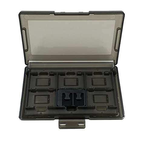 Starnearby Caja de Almacenamiento para Tarjetas de Juegos de Nintendo Switch, plástico, 1 Unidad, 12 + 2 Ranuras