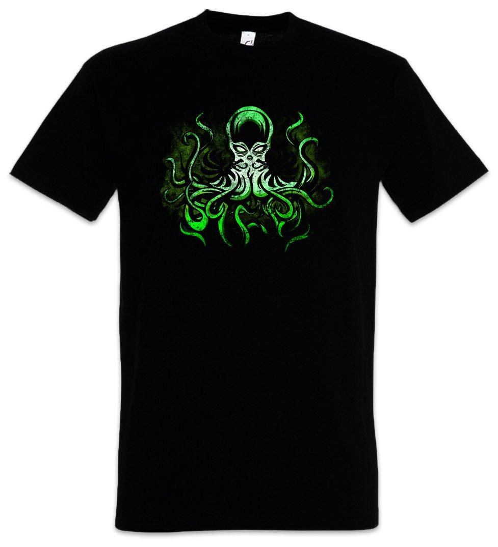 Urban Backwoods Poison Green Cthulhu T Shirt Wars H P Lovecraft Miskatonic Arkham T Shirt