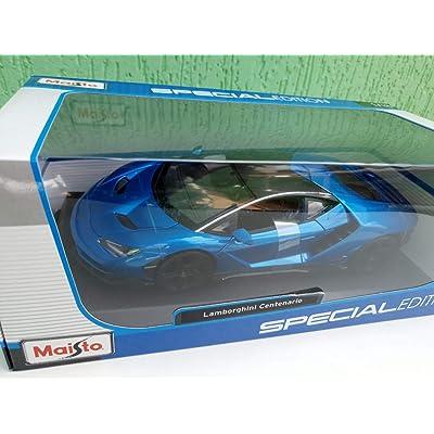 Maisto Special Edition 1:18 1970 Chevrolet Nova SS Coupe Blue: Toys & Games
