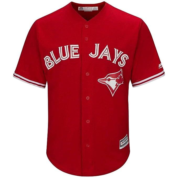 53737d88a Toronto Blue Jays Men s Cool Base Replica Alternate Red Jersey (Medium)