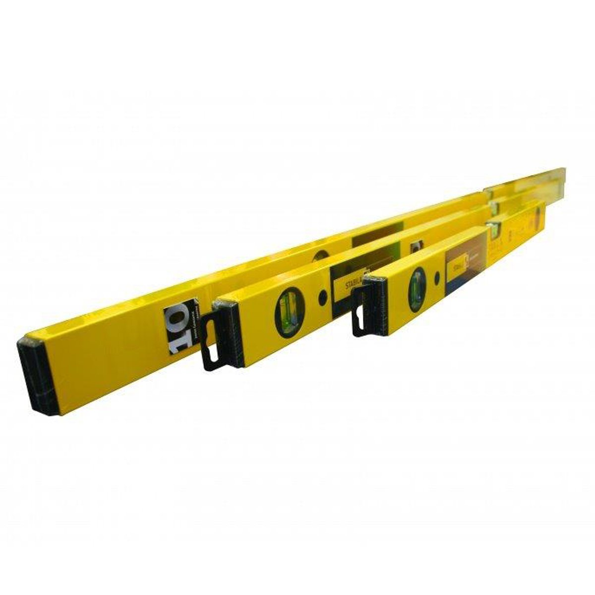Stabila - 70-2 Double Vial Plumb Spirit Level Pack 60, 120 and 180 centimetre STB702SET
