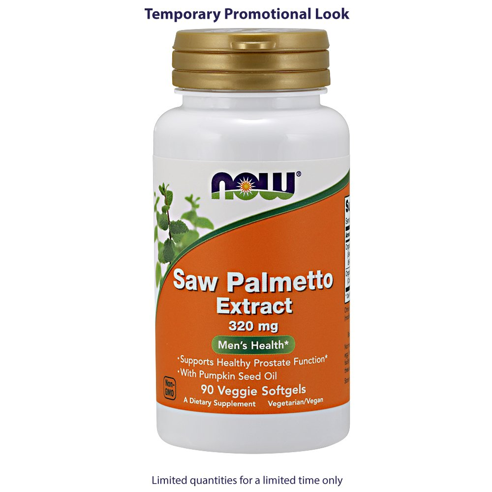 NOW Saw Palmetto 320mg Softgels Image 3