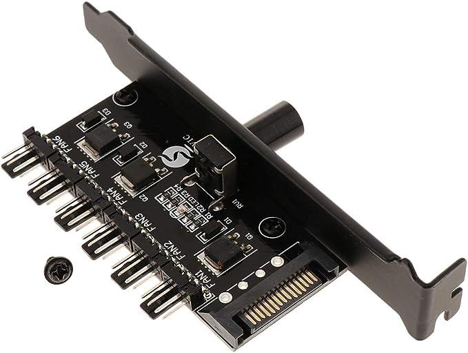 perfk SATA Power PC Ventilador Controlador De Velocidad PCI PWM ...