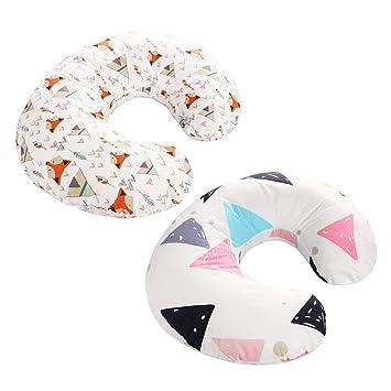Amazon.com: Healifty - 2 fundas de almohada para lactancia ...