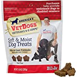 Bil-Jac America's VetDogs Skin & Coat Dog Treats, 10 oz. For Sale