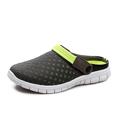 48a8a2f9a17bcb Qianliuk Sommerschuhe Herren Sandalen Strand Pantoffeln Clogs Sneakers  Unisex Größe 36-47 Flip Flops