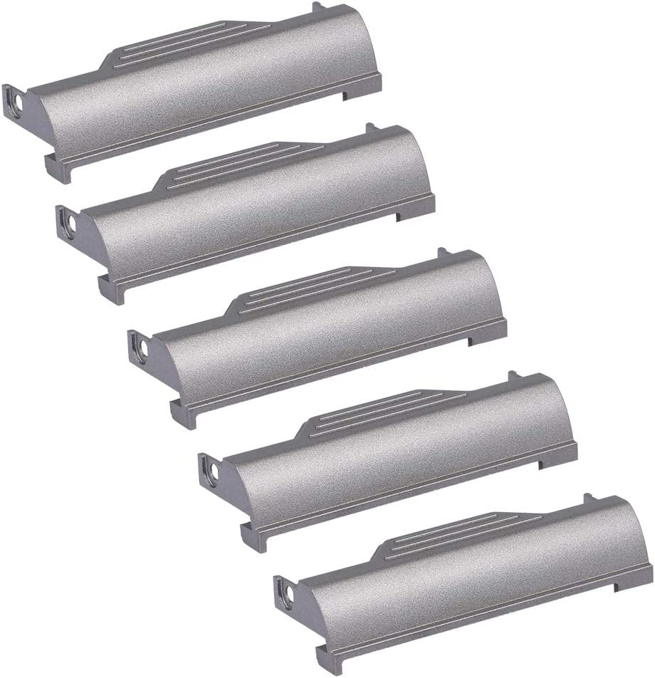 Docooler (5pcs Hard Drive Caddy Cover with Mounting Screws for DELL Latitude D820 D830 M65 Laptop SSD