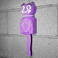 Kit Cat Klock Jeweled Limited Edition Lady (Radiant Orchid)