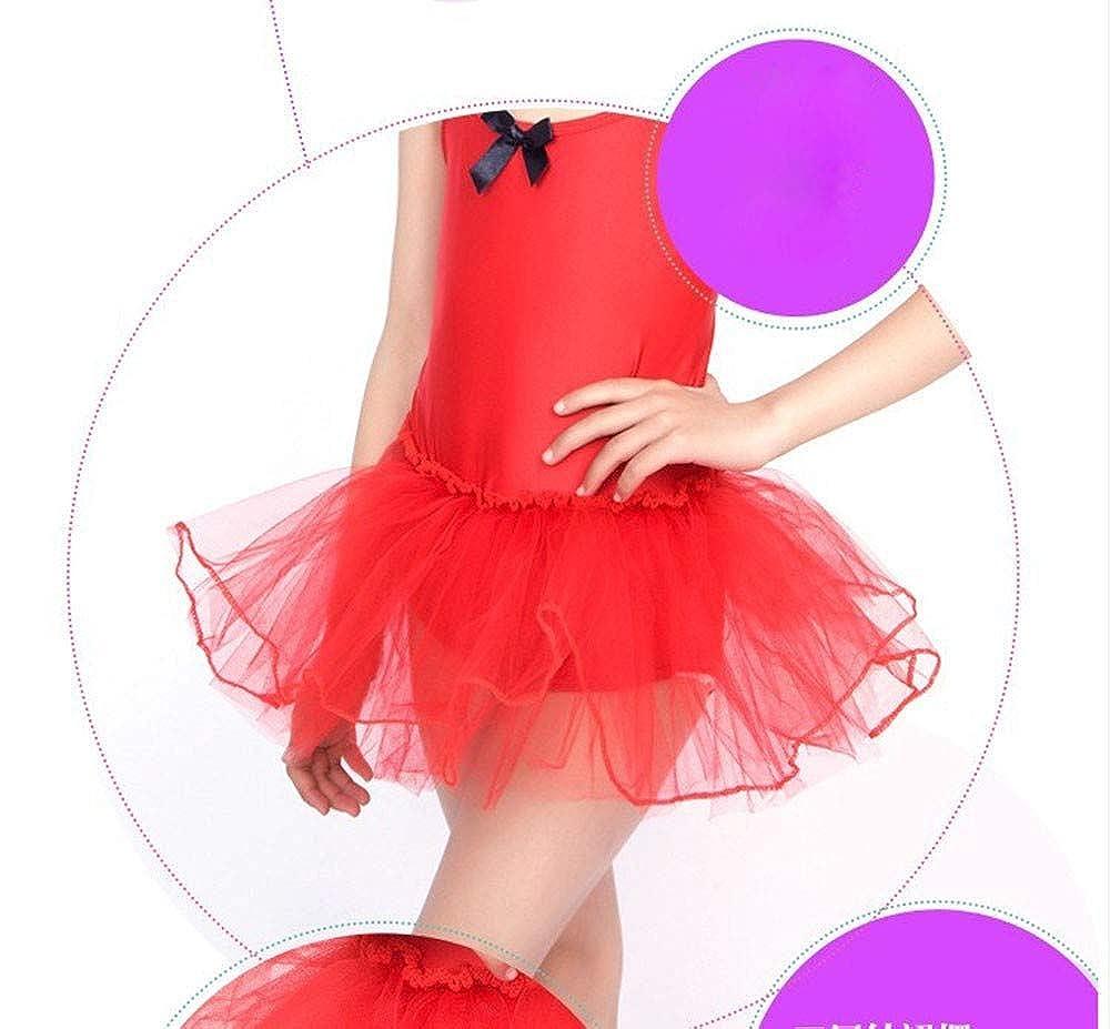 Zerototens Girl Ballet Dress,Toddler Girls Leotards Tops Bowknot Bodysuit Dancewear Dress Clothes Outfits Sleeveless Strap Ballet Gymnastic Leotard Tutu Skirt for 1-6 Years Old
