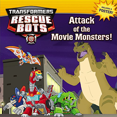 Transformers Rescue Bots Attack Monsters