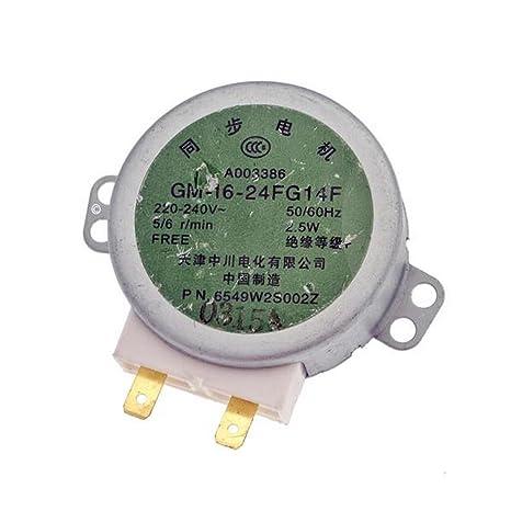 Motor de bandeja - Horno microondas - LG: Amazon.es: Grandes ...