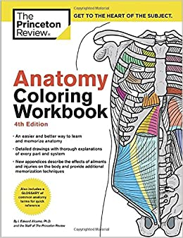 Amazon.com: Anatomy Coloring Workbook, 4th Edition: An Easier and ...