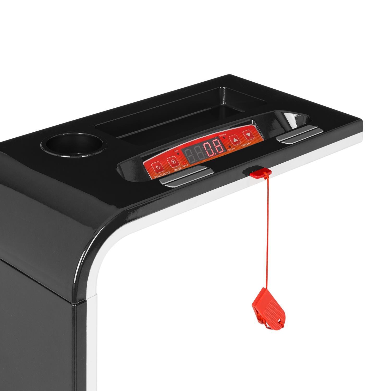 Klarfit Home Runtasy oder Runtasy SE /• Laufband /• Heimtrainer /• 0,8-10 km//h /• LED-Display /• Bluetooth-Funktion /• zusammenklappbar /• als Sitz verwendbar /• rot oder schwarz