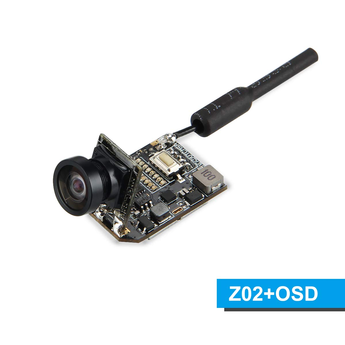 BETAFPV Z02 FPV Camera 480TVL CMOS OSD Switchable 25mW 200mW Transmitter SmartAudio Tiny Whoop Blade Inductrix Racing Drone by BETAFPV