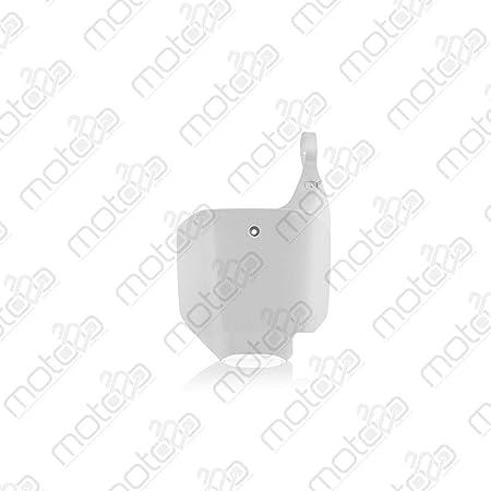 Acerbis Startnummerntafel Weiß Auto