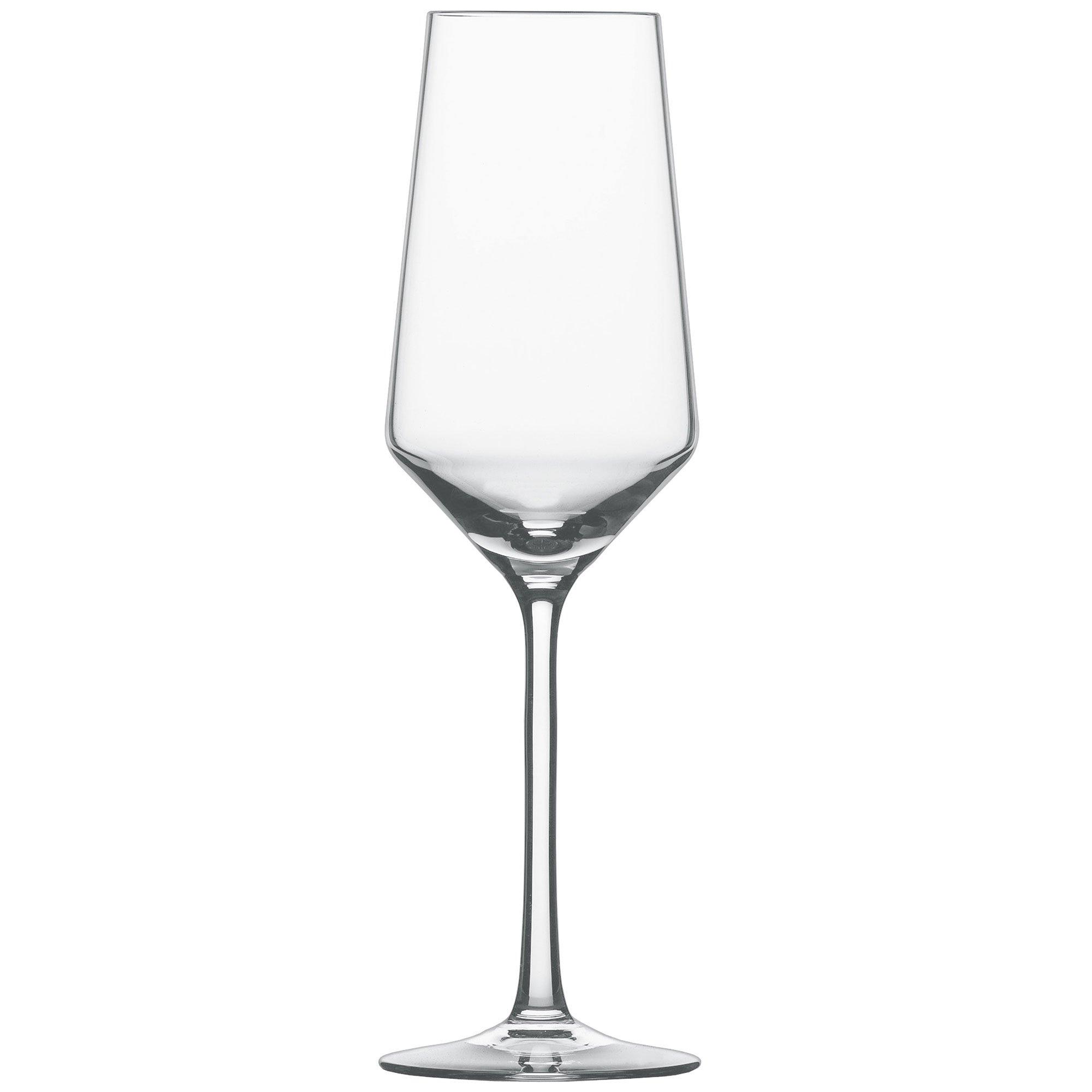 Shot Zwiesel PURE Pure champagne glass 297cc 30018 6 -legged set 0949529 by Schott Zwiesel (Image #1)