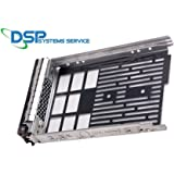 "3.5"" F238F 0G302D G302D 0F238F 0X968D X968D SAS/SATAu Hard Drive Tray/Caddy for DELL server R610 R710 T610 T710 + screws Compatible Part Number: F238F"