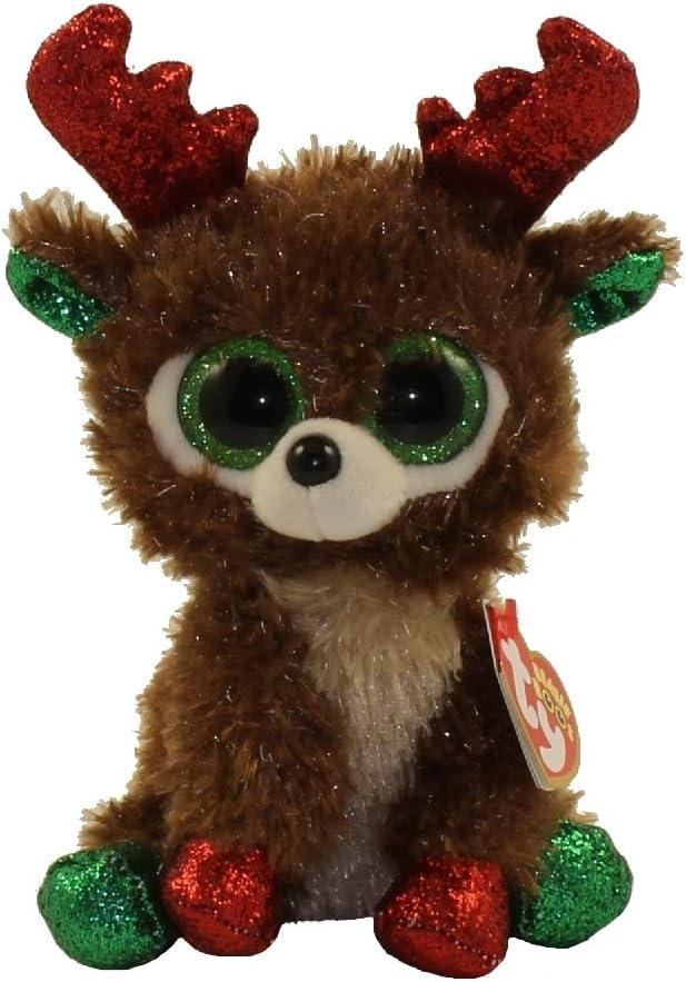 Alaska Stuffed Animals, Amazon Com Ty Beanie Boos 6 Christmas Limited Edition Fudge Perfect Plush Toys Games