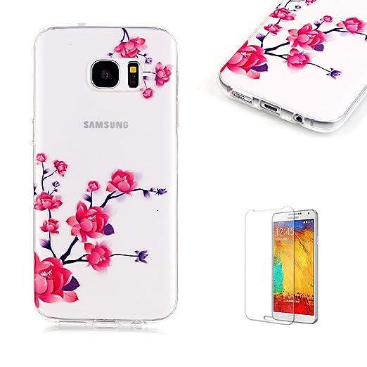 3 opinioni per Cover Per Samsung Galaxy S7 Edge Silicone Custodia Morbida Trasparente con