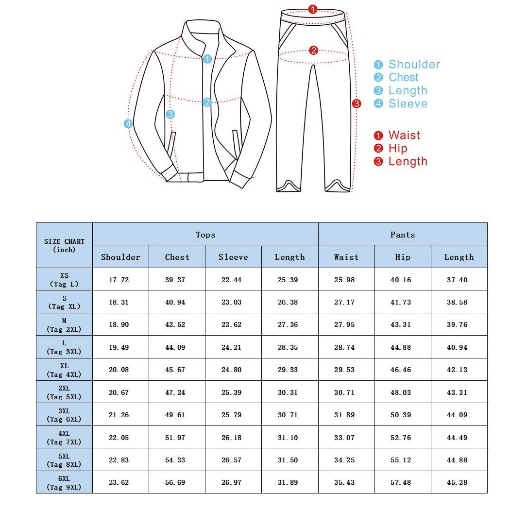 Snowman Lee Mens Plus Size Camo 2 Piece Jogging Tracksuit Casual Crewneck Fitted Workout Sweat Suits Set