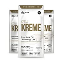 KETO//KREME 2.0 with Functional Fat Technology FFT, MCT Oils for Brain Boost, Reduce...