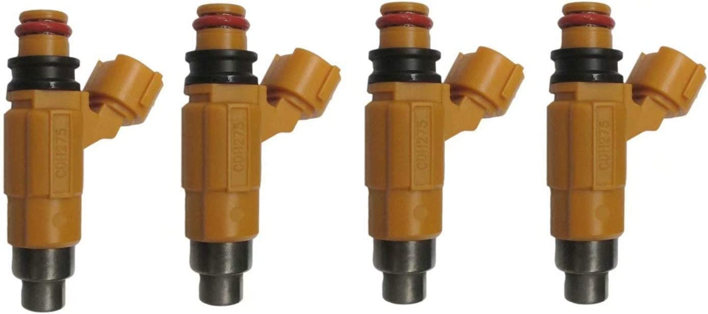 4 New Fuel Injector Set fits for Yamaha F150 Four Stroke Outboard CDH275 63P1376100