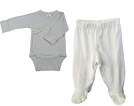 0b566ca3ed20 Amazon.com  Lukeeno Organic Cotton Baby Footed Pants - Multi Pack ...