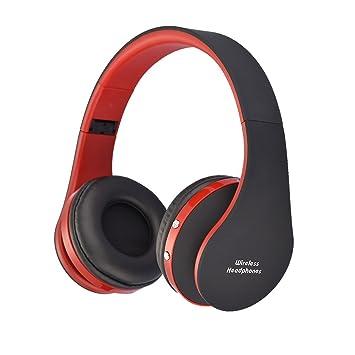 2 im 1 Kabellos/Verdrahtet Bluetooth Kopfhörer Über das Ohr Hand ...